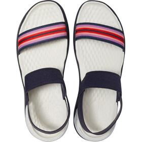 Crocs LiteRide Chaussures Femme, navy colorblock/navy